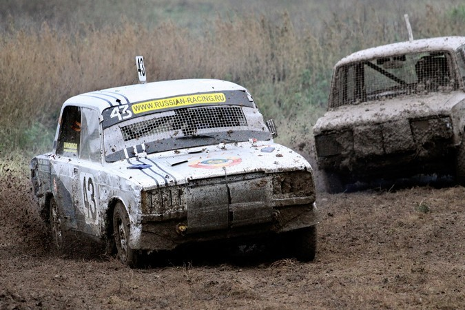 Андрей Силаев завоевал бронзу первого этапа автокросса в Орловской области